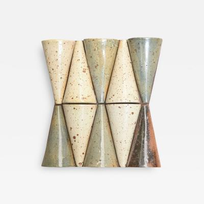 Pierre Digan Ceramic Wall Sculpture by Pierre Digan France 1970s