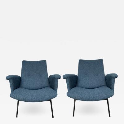 Pierre Guariche Pair of SK660 armchairs by Pierre Guariche Steiner edition 1953