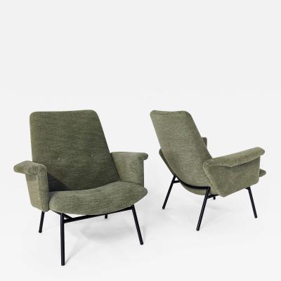 Pierre Guariche Pair of armchairs SK660 by Pierre Guariche Steiner Edition 1950