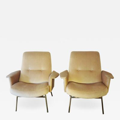 Pierre Guariche Pair of armchairs by Pierre GUARICHE France 1953