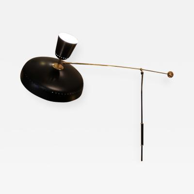 Pierre Guariche Pierre Guariche 1926 1995 Counterweight mobile wall lamp model G1