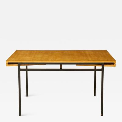 Pierre Guariche Rare expandable dining room table by Pierre Guariche and ARP France 1960s