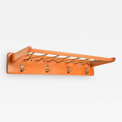 Pierre Guariche Vintage French Coat Rack in Maple Wood
