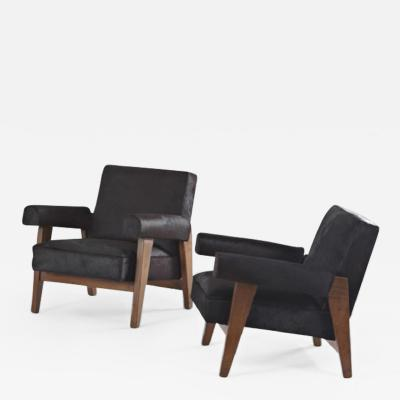 Pierre Jeanneret Armchairs special version for the Hight Court and the Assembly