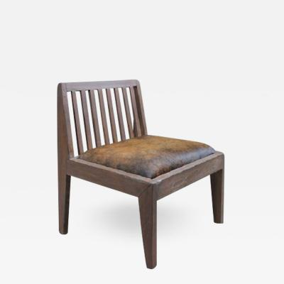 Pierre Jeanneret Armless Low Chair