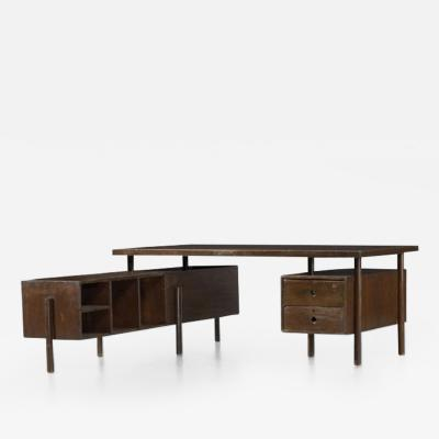 Pierre Jeanneret Collapsible administrative desk 1957 1958