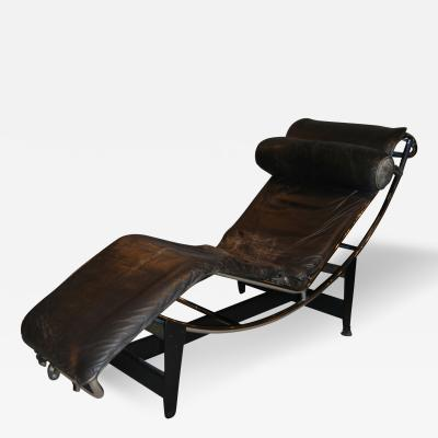 Pierre Jeanneret Early Le Corbusier Jeanneret Perriand LC4 Chaise Lounge