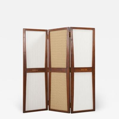Pierre Jeanneret Folding screen from the administrative buildings of Chandigarh