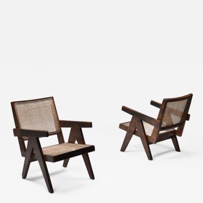 Pierre Jeanneret Jeanneret easy chair Chandigarh 1960s