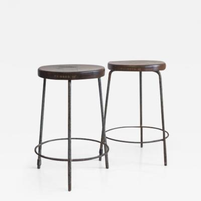 Pierre Jeanneret Low Stools