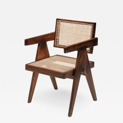 Pierre Jeanneret Pierre Jeanneret Floating Back Armchair 1950s