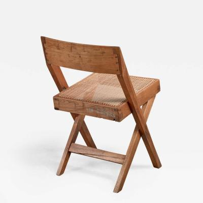 Pierre Jeanneret Pierre Jeanneret Numbered Chandigarh High Court library chair