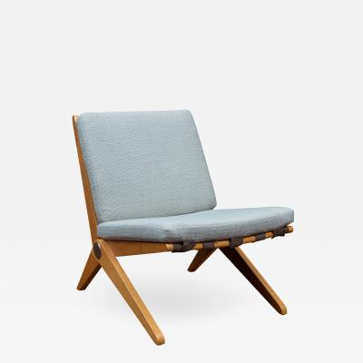 Pierre Jeanneret Pierre Jeanneret Scissor Chair for Knoll International