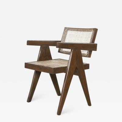 Pierre Jeanneret Pierre Jeanneret Teak Conference Chair from the City of Chandigarh India