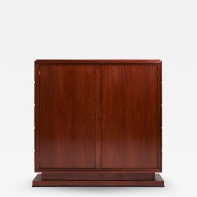Pierre Lardin Art Deco Armoire or Bookcase by Jean Rousseau Pierre Lardin