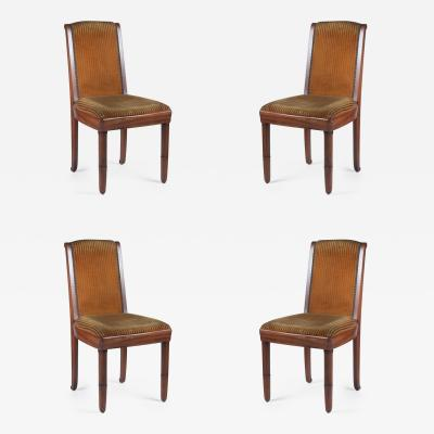 Pierre Paul Montagnac Pierre Paul Montagnac Set of 4 Dining Chairs