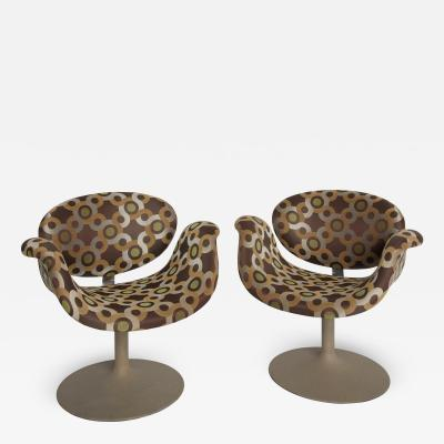 Pierre Paulin Little Tulip Arm Chairs