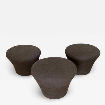 Pierre Paulin Original Pierre Paulin Mushroom Pouf or Stool by Artifort Netherlands 1960s