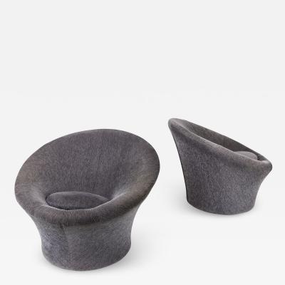 Pierre Paulin Pair of Pierre Paulin Mushroom Lounge Chairs for Artifort circa 1960 France