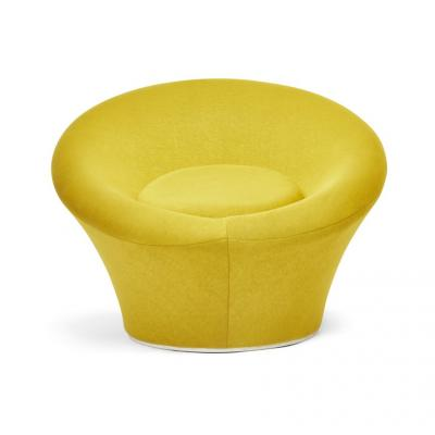 Pierre Paulin Pair of original chairs and footstool by Pierre Paulin for Artifort