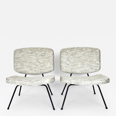 Pierre Paulin Pierre Paulin CM190 Pair of Slipper Lounge Chairs for Thonet