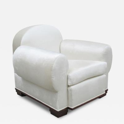 Pierre de la Londe Art Deco Elephant Upholstered Armchair