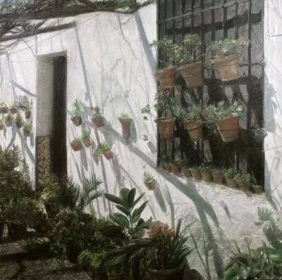 Piet Bekaert Wall With Hanging Plants 1983