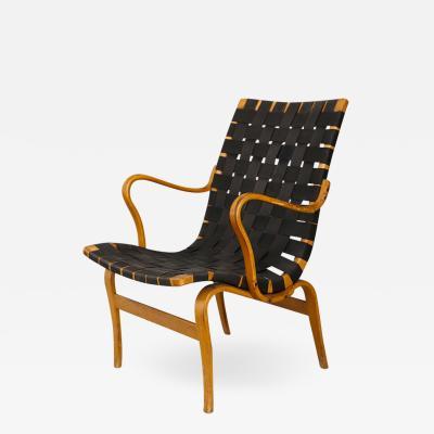 Piet Hein Bruno Mathsson Pernilla Lounge Chair by Bruno Mathsson 1940s