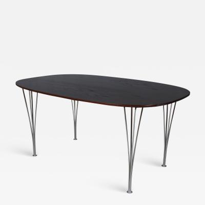 Piet Hein Bruno Mathsson Piet Hein Bruno Mathsson Super Ellipse dining table