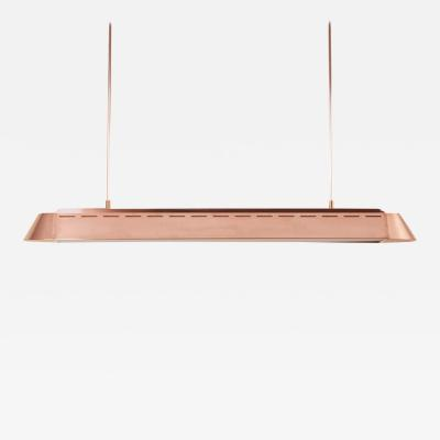Piet Hein Eek One of Two TL Copper Suspension Light by Piet Hein Eek