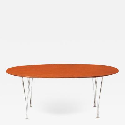 Piet Hein PIET HEIN EARLY SUPER ELLIPSE DINING TABLE