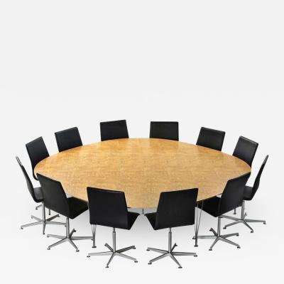 Piet Hein PIET HEIN SUPER ELLIPSE CONFERENCE OR DINING TABLE