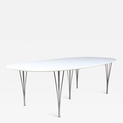 Piet Hein Piet Hein Superellipse dining table freshly painted