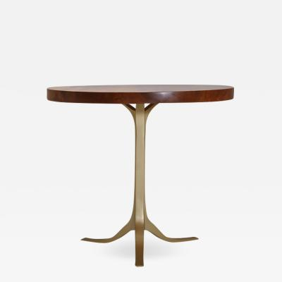 Pieter Compernol Bespoke Round Table with Sand cast Brushed Brass Base by P Tendercool