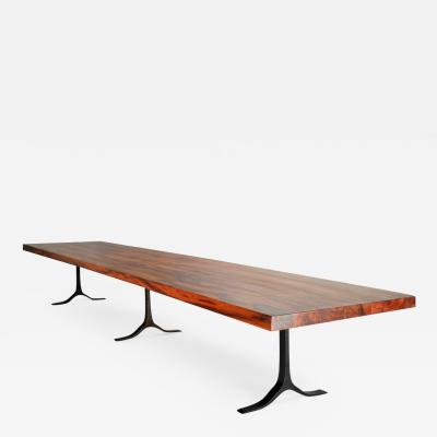 Pieter Compernol and Stephanie Grusenmeyer 16 seat Dining Table Reclaimed Hardwood AVAILABLE IN STOCK by P Tendercool