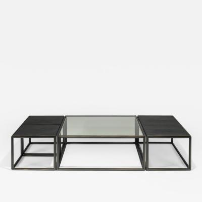 Pieter Compernol and Stephanie Grusenmeyer Bronze Coffee Table Collection by P Tendercool