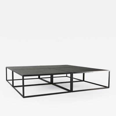 Pieter Compernol and Stephanie Grusenmeyer Castle Sized Mondriaan Inspired Square Low Table by P Tendercool