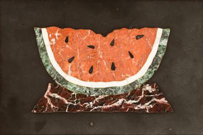 Pietra Dura Pietra Dura Painting of a Watermelon