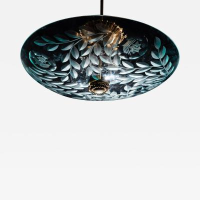 Pietro Chiesa Fontana Arte Ceiling Fixture Attributed to Pietro Chiesa Italy circa 1935