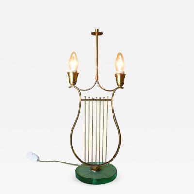 Pietro Chiesa Fontana Arte Italian Mid Century Table Lamp in the style of Pietro Chiesa 1930s