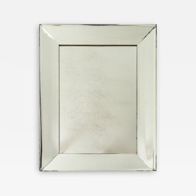 Pietro Chiesa Pietro Chiesa Fontana Arte Crystal Mirror Milan Italy c 1950