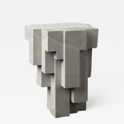 Pietro Franceschini Deseo No 3 Sculpted Side Table Stool by Pietro Franceschini