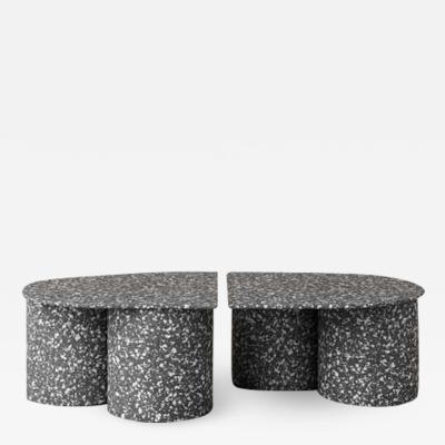 Pietro Franceschini Low Twins Coffee Table by Pietro Franceschini