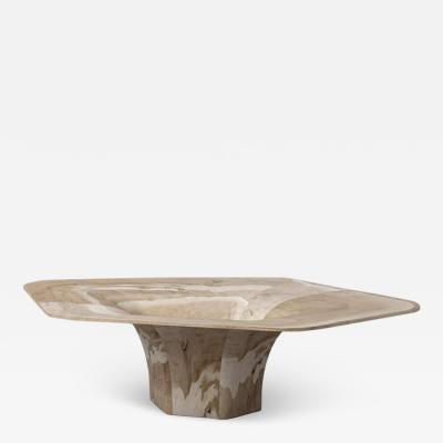Pietro Franceschini Sculptural Dune Coffee Table by Pietro Franceschini