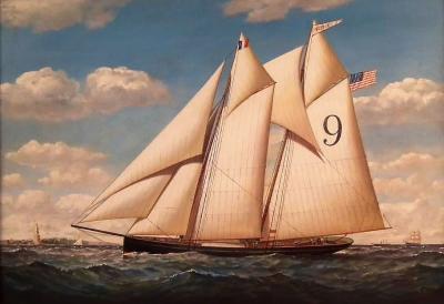 Pilot Boat NETTLE New York Harbor