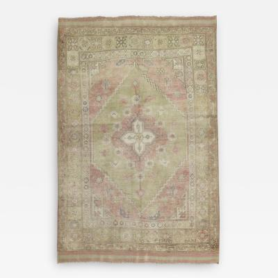 Pink Turkish Anatolian Rug rug no 31249
