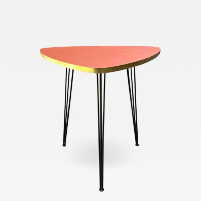 Pink coffee table 1960s