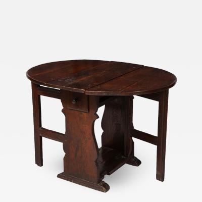 Plank End Gateleg Table