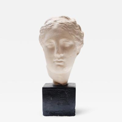 Plaster Head of a Roman Princess