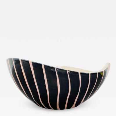 Pol Chambost Pol Chambost 1950s French Pottery Bowl